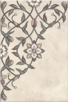 Керамическая плитка Тадж Махал Декор AC222 8219 20х30
