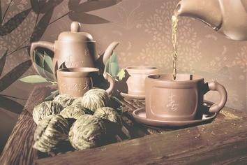 Керамическая плитка Tea ceremony Декор D1D175 20х30
