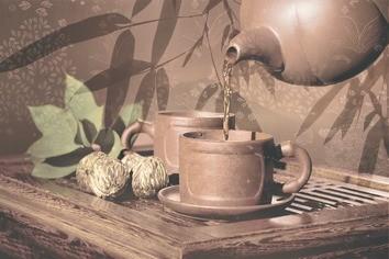 Керамическая плитка Tea ceremony Декор D2D175 20х30