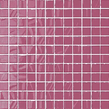 Плитка мозаика Темари Плитка настенная фуксия (мозаика) 20049  29