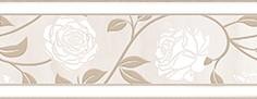 Керамическая плитка Tender Marble Бордюр 2 бежевый 1502-0607 20х8