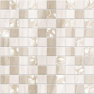 Керамическая плитка Tender Marble Декор мозаика бежевый 1932-0010 30х30