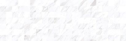 Керамическая плитка Terma Плитка настенная белый мозаика 17-30-01-1194 20х60