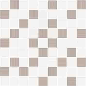 Керамическая плитка Tiffany вставка мозаика бежевый (A-TV2L011 G) 30x30