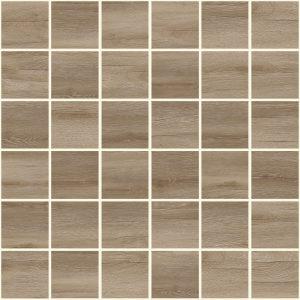 Плитка мозаика Timber Мозаика коричневый 30х30