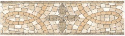 Керамическая плитка Травертин STG A107 880 бордюр 20х5