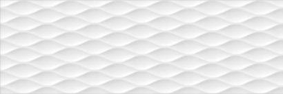 Керамическая плитка Турнон Плитка настенная белый структура обрезной 13058R 30х89