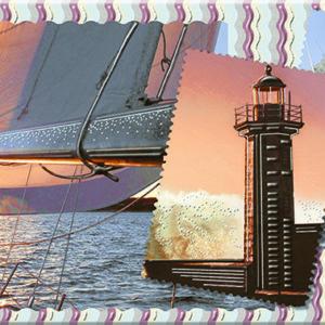 Керамическая плитка Variete Blue Voyage 2 Декор - 505x201 мм 13 шт
