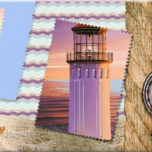 Керамическая плитка Variete Blue Voyage 3 Декор - 505x201 мм 13 шт