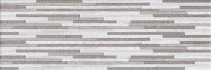 Керамическая плитка Vega Плитка настенная серый мозаика 17-10-06-490 20х60