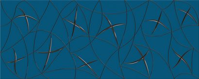 Керамическая плитка Vela Декор Indigo Stella 20