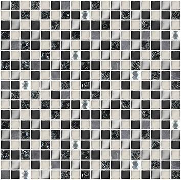 Керамическая плитка Vela Мозаика Nero XH156 30х30