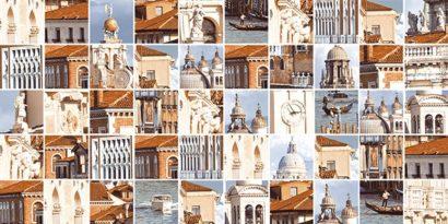 Керамическая плитка Венеция бежевый Мозаика стандарт 10-31-11-273 25х50
