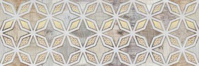 Керамическая плитка Verona grey Декор 01 25х75