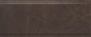 Керамическая плитка Версаль Бордюр коричневый обрезной BDA008R 30х12