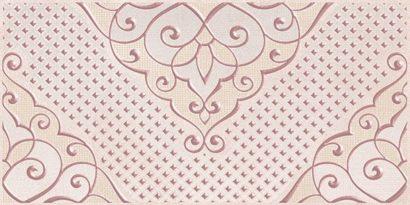 Керамическая плитка Versus Chic Декор розовый 08-03-41-1335 20х40