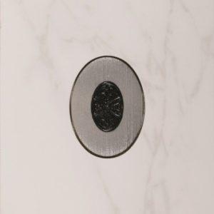 Керамическая плитка Vesta Arabescato White Декор 30x90