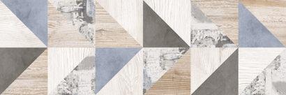Керамическая плитка Вестанвинд Плитка настенная декор 2 натуральный 1064-0168 20х60