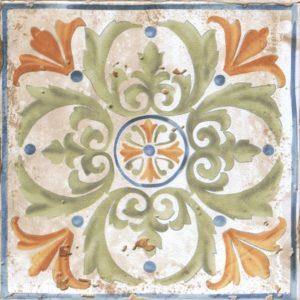 Керамическая плитка Виченца Декор Майолика HGD A151 17000 15х15
