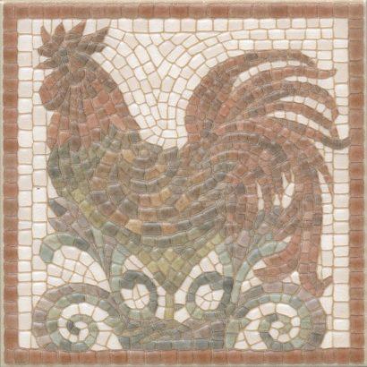 Керамическая плитка Виченца Декор Петух HGD A136 17000 15х15