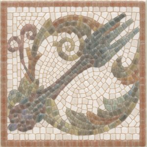 Керамическая плитка Виченца Декор Вилка HGD A141 17000 15х15