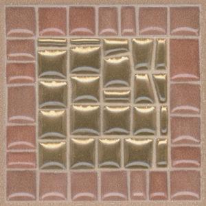 Керамическая плитка Виченца Вставка золото AD B312 5246 4