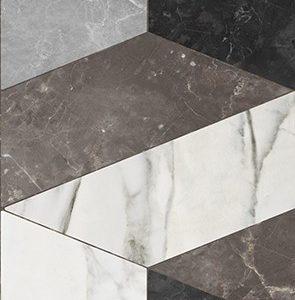 Керамическая плитка Vinde multi Плитка настенная 01 25х60