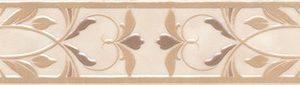 Керамическая плитка Вирджилиано Бордюр беж BR141 11104R 30х7