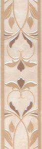 Керамическая плитка Вирджилиано Бордюр беж BR142 11104R 60х7