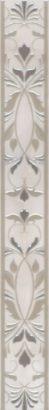 Керамическая плитка Вирджилиано Бордюр серый AR142 11101R 60х7
