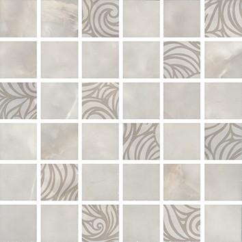 Керамическая плитка Вирджилиано Декор мозаичный серый MM11101 30х30