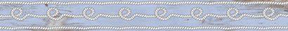 Керамическая плитка Ящики Бордюр синий 1506-0243 6