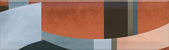 Керамическая плитка Закат Декор OS A04 9010 8