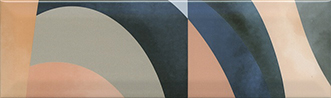 Керамическая плитка Закат Декор OS A08 9010 8
