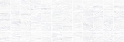 Плитка мозаика Zen Декор мозаичный белый MM60070 20х60