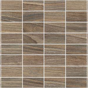 Плитка мозаика Zen Декор мозаичный коричневый MM60066 20х60