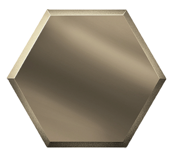 Керамическая плитка Зеркальная бронзовая плитка СОТА СОЗБ1 20х17