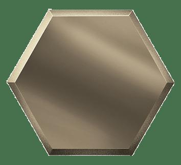 Керамическая плитка Зеркальная бронзовая плитка СОТА СОЗБ2 25х21