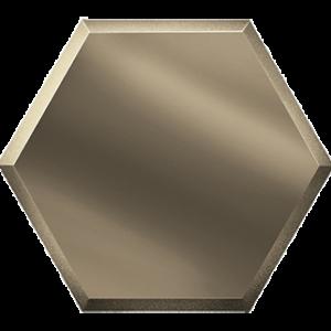 Керамическая плитка Зеркальная бронзовая плитка СОТА СОЗБ3 30х25