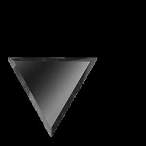 Керамическая плитка Зеркальная серебряная плитка ПОЛУРОМБ внутренний РЗС1-01(вн) 20х17