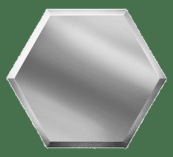 Керамическая плитка Зеркальная серебряная плитка СОТА СОЗС3 30х25
