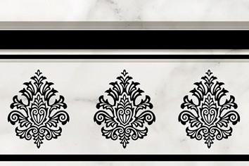 Керамическая плитка Zoc Aragon  Calacatta Бордюр 20х30