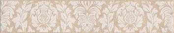 Керамическая плитка Золотой пляж Бордюр тёмный беж ALD B34 8263   5