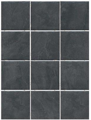 Керамическая плитка Дегре Плитка настенная чёрный 1301H 9
