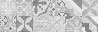 Керамическая плитка Terrazzo облицовочная плитка  печворк серый (TES092D) 19