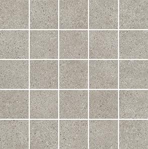 Керамическая плитка Безана Декор серый мозаичный MM12137 25×25