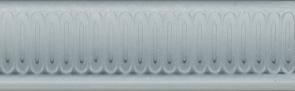Керамическая плитка Борромео Бордюр голубой BOA007 25×4