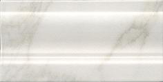 Керамическая плитка Брера Плинтус белый FMD019 20×10