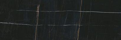 Керамическая плитка Греппи черный обрезной 14026R 40×120