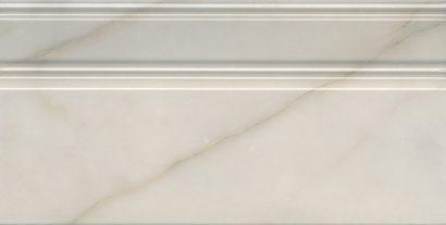 Керамическая плитка Греппи Плинтус белый FME007R 20×40